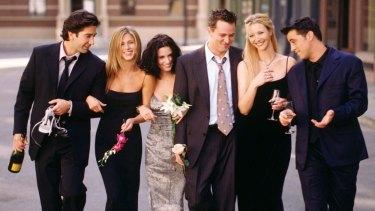 Still Friends: David Schwimmer, Jennifer Aniston, Courteney Cox, Matthew Perry, Lisa Kudrow and Matt LeBlanc.