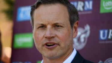 Manly chairman and co-owner Scott Penn is adamant coronavirus won't kill the Sea Eagles.