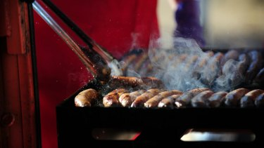 With election-day sausage sizzles called off, there is no reason for voters to loiter at polling stations on Saturday.
