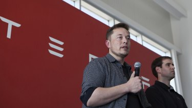 Elon Musk's Tesla dominates the electric car market but traditional car powerhouses are ramping up their efforts to close the gap.