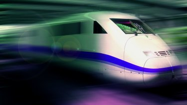 Not so fast ... the economics of investment in fast trains for Australia do not stack up, the Grattan Institute's research finds.