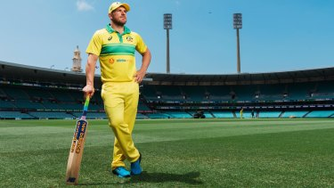 Australia's one-day captain Aaron Finch on the SCG, which will take a hammering next March.