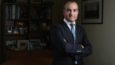 Victorian Education Minister James Merlino