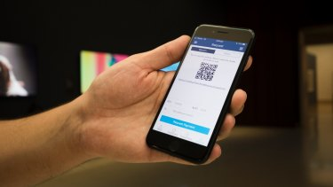 QR codes can be scanned on devices like smartphones and smart watches.