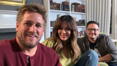Peek into the lives of stars like Curtis Stone and Lindsay Price on Celebrity Gogglebox USA.