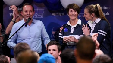 Tony Abbott concedes defeat in Warringah.