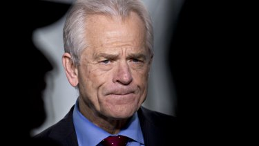 'Two words: second opinion': Economist Peter Navarro, Trump's trade adviser.