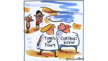 Times are changing: Tony Abbott and Kevin Andrews