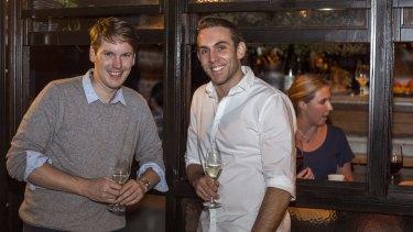 Banjo Harris Plane and Tom Walenkamp are teaming technology and wine.