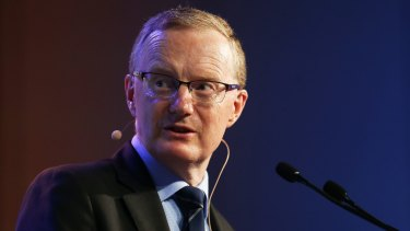 RBA governor Philip Lowe: The RBA sounded more upbeat about the economy.