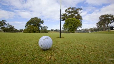 The popularity of two publicly-owned golf course has declined.