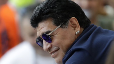 """People think I am happy but my heart is heavy"": Diego Maradona."