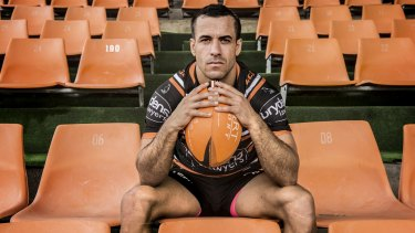 Corey Thompson will remain at Wests Tigers.