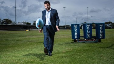 NSW Rugby boss Andrew Hore wants less talk and more action on western Sydney.