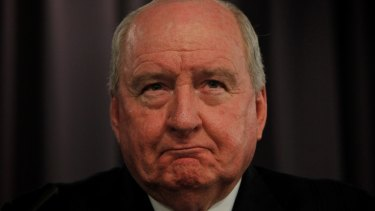 Politicians don't tend to accuse broadcaster Alan Jones of bias.