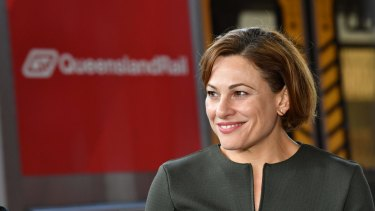 """Jackie Trad: 'There was... no discussion with anyone in relation to the Cross River Rail project."""""""