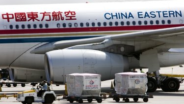A delegation is currently meeting with China Eastern air to discuss an ongoing flight between Perth and Shanghai.