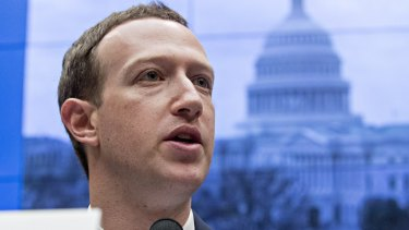 Under fire: Mark Zuckerberg, chief executive officer and founder of Facebook.