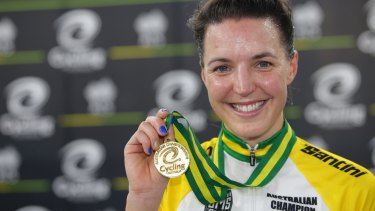 Two-time world champion Rebecca Wiasak's Olympic dream is in tatters after Cycling Australia cut her funding.