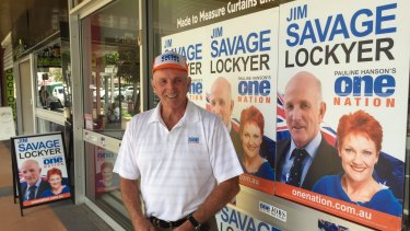 Former One Nation president and 2017 state candidate for Lockyer, Jim Savage.