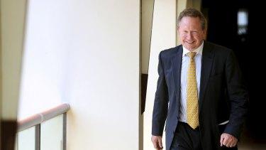 Mining magnate Andrew Forrest.