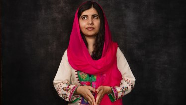 Malala Yousafzai, the youngest Nobel Prize laureate, in Sydney last year.