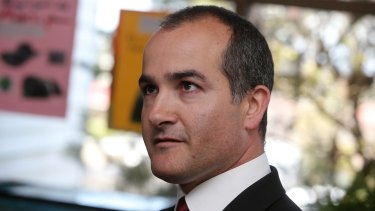 State Education Minister James Merlino.