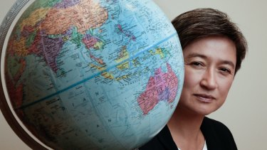 Penny Wong has been awarded a major national prize for political leadership.