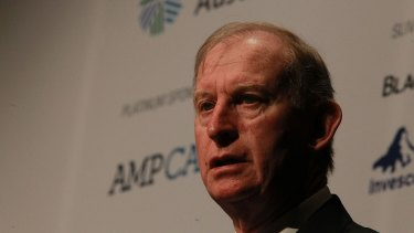 David Murray's position as chair of AMP is under threat.