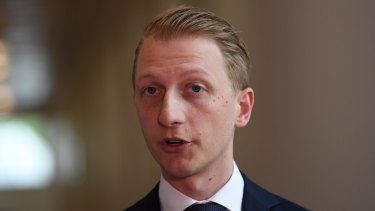 Senator James Paterson is one of three MPs urging the university to tread carefully lest it undermine free speech.