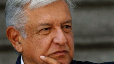 Mexico's President-elect Andres Manuel Lopez Obrador.