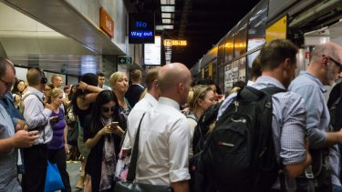 Patronage on Sydney's rail network is surging.