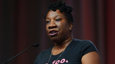 Sydney Peace Prize winner and #MeToo campaign founder Tarana Burke.