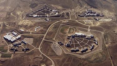 The maximum security facility in Florence, Colorado, pictured in 2004.