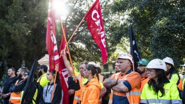 The CFMMEU is pushing for big wage increases for construction workers in NSW.