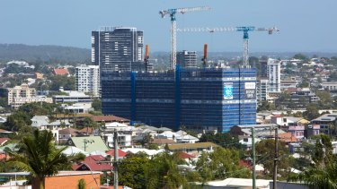 More residential development is needed in established Brisbane suburbs, according to Infrastructure Australia.