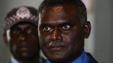 Solomon Islands Prime Minister Manasseh Sogavare.