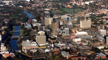 Parramatta is first in line to be able to use Vodafone's 5G network.