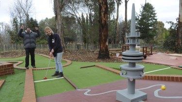 Mini golf to the max.