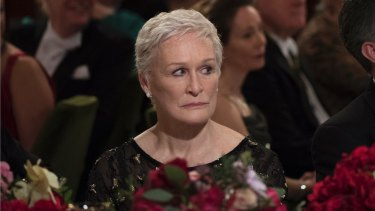 Almost assured of winning best actress: Glenn Close in The Wife.