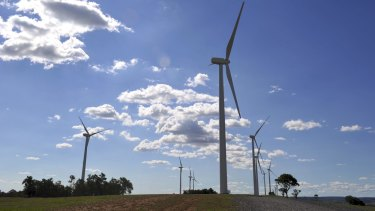 Construction will begin on a wind farm in central Queensland.
