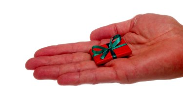 Research shows gift-givers tend to overestimate how well unsolicited gifts will be received.