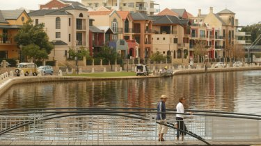 East Perth's newer areas are compact and walkable, with easy access to the natural asset that is the Swan River.