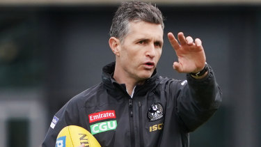 Justin Longmuir looks to be out of the Freo coaching race.