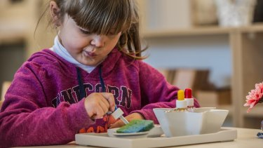 The number of schools and preschools using the Montessori method has been growing, including Canberra's first Montessori early childhood service, which opened in 2017.