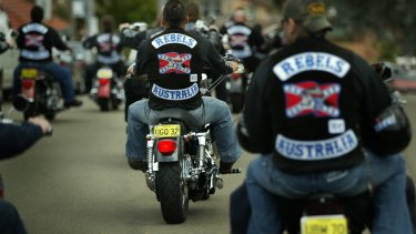 Police have not officially linked which two gangs are involved, but are investigating the involvement of Rebels and Hells Angels' members.