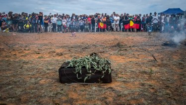 Mungo Man's remains have come home.