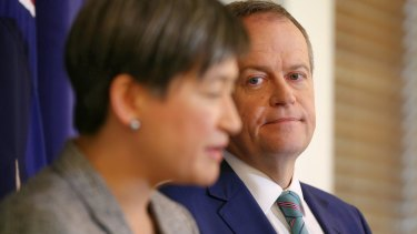 Opposition Leader Bill Shorten and foreign affairs spokeswoman Penny Wong would review a number of postings should Labor win the election.