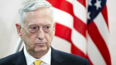 Stepping down: James Mattis, US Secretary of Defence