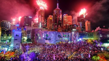 The council will host a $3.4 million New Year's Eve spectacular in the CBD.